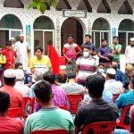 মনোহরগঞ্জে মাদক বিরোধী সমাবেশ অনুষ্ঠিত